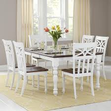 dining room 7 piece sets dining room set white homey design white 12 pc traditional igf usa