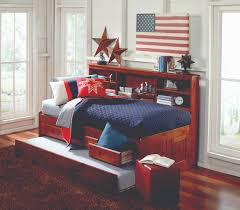 twin captains bed with bookcase headboard bedroom design twin trundle bed bookcase headboard a flexible bed