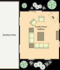 family room floor plans one room home addition plans home additions today and we ll put