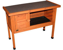 Pet Hutch Pet One Small Animal Hutch Wooden My Pet Warehouse