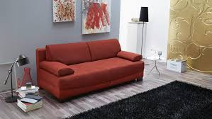 funktions sofa angelosa schlafsofa sofa in rot 200 cm