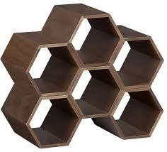 hexa stacking wine rack modern wine racks crateampbarrel small