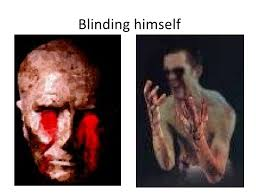 Oedipus Blinds Himself Quote Oedipus The King