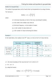 ks4 averages and spread u2013 mean median mode and range teachit