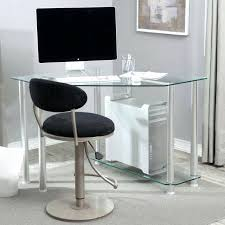 petit bureau en verre bureau informatique en verre pas cher petit bureau d ordinateur