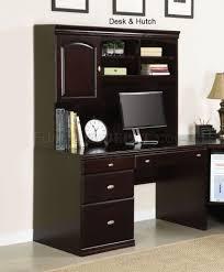 Modern Desk Hutch Finish Cape Modern Desk W Options By Acme