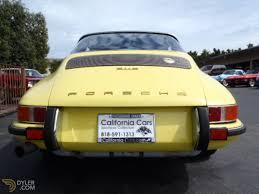 porsche california classic 1970 porsche 911 e cabriolet roadster for sale 2457 dyler