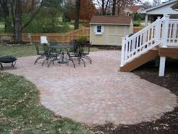 pavers u0026 flagstone landscaping st louis landscape design