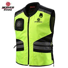 fluorescent cycling jacket cycling reflective clothing reflective vest safety clothing to