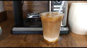 iced espresso macchiato iced caramel macchiato newest ninja coffee bar system youtube
