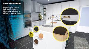 cuisine virtuelle la réalité virtuelle pour visiter votre future cuisine ikea weblife