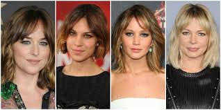 short hairstyles with center part and bangs 10 best short hairstyles with bangs the trend spotter