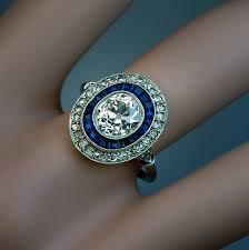 art deco sapphire engagement rings uk engagement ring usa