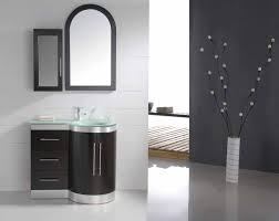 modern bathroom vanity makes your bathroom beautiful amaza design modern bathroom vanity design decorated with small shape with glass countertop completed with curve wall mirror