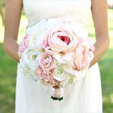 Silk Flowers Wholesale Wedding Bouquets With Fake Flowers Wedding Bouquet With Artificial
