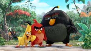 wallpaper angry birds movie chuck red bomb animation