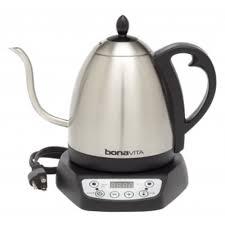 bonavita variable temperature 1 0l gooseneck electric kettle