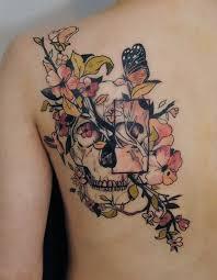 Tattoo Ideas On Shoulder Best 25 Feminine Skull Tattoos Ideas On Pinterest Pretty Skull