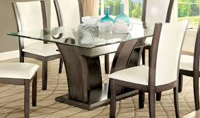 Manhattan Rectangle Adjustable Height Dining And Coffee Table Buy Furniture Of America Cm3710gy T Set Manhattan I Gray Dining