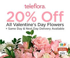 flower coupons deal of the day 20 at teleflora thegoodstuff
