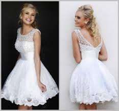white 8th grade graduation dresses eighth grade formal dresses girl clothing