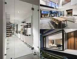 Hamptons Contemporary Home Design Decor Show Glass Enclosed Wine Cellars U2013 Stact Wine Racks