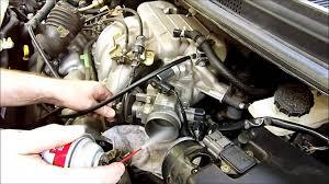 mazda millenia 2016 throttle body cleaning on a 2005 mazda mpv youtube
