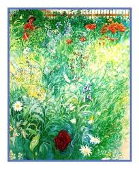 boy in a summer garden by swedish artist carl larsson counted