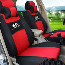 hyundai sonata car seat covers grey beige blue embroidery logo car seat cover front rear