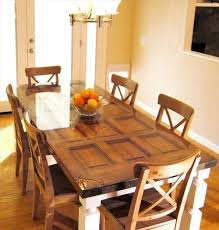 How To Make A Dining Table Out Of A Old Door Do It Yourself I Want