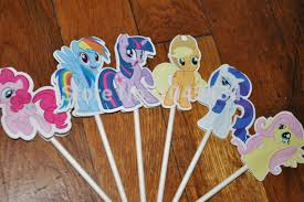 my pony cupcake toppers new sale 12 pcs lot my pony cupcake topper cake accessories