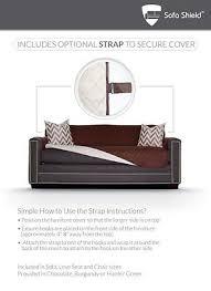 Sofa Scratch Protector Sofa Slipcover Pet Scratch Protector Reversible Shield Furniture