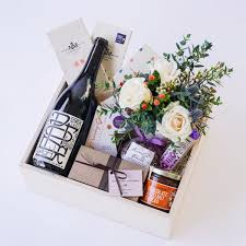 wine delivery gift wine chocolate gift box with flowers delivery in santa