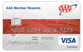 aaa washington aaa member rewards visa credit card