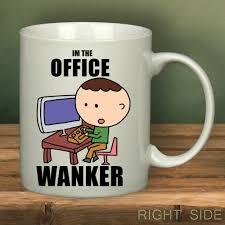 office wanker mug designs pinterest