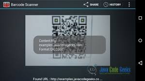 android qr scanner android barcode and qr scanner exle exles java code geeks