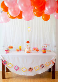 Pink And Yellow Birthday Decorations 147 Best Pink Orange U0026 Yellow Party Images On Pinterest
