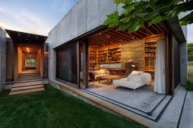 great green lawn house architecture design finished in modern for