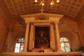 church chandeliers glass