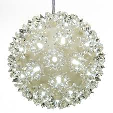 shop ge 0 45 ft hanging sphere light display with twinkling