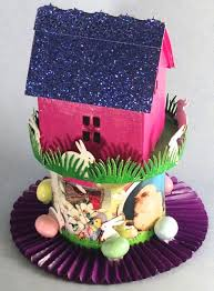 Easter Bunny Village Decorations by With Glue And Glitter Bunny Houses More Houses From The Tim