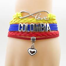 infinity jewelry bracelet images Infinity love colombia bracelet heart charm love my motherland jpg