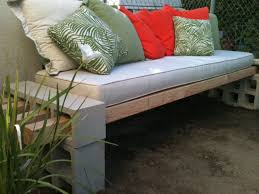 How To Make Bench Cushions Easy Diy Outdoor Bench In Less Than An Hour