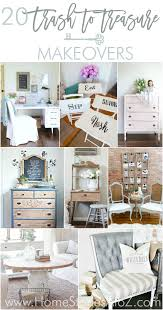 20 trash to treasure makeovers thrift store finds store and diy