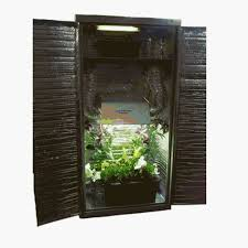 amazon com cool cab hydroponic grow box plug n play closet grow