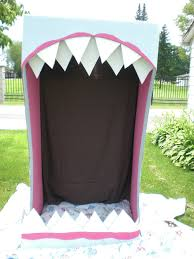 shark mouth doorway garage door variation halloween