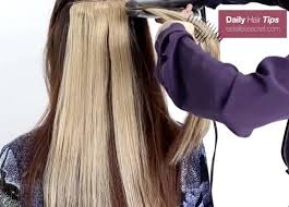 vp hair extensions highlight using extensions instant highlights with estelle s