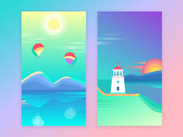 colorful designer color in ui design look on the bright side ux planet
