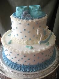 baby boy shower cake ideas fancy for boys birdcages