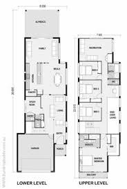 long house floor plans narrow but large 2 storey home with 5 bedrooms plus a study and 3